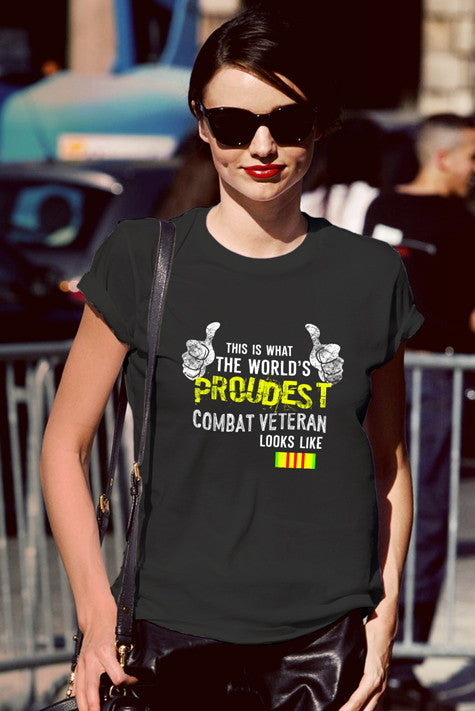 FunkyShirty This is what the world proudest combat veteran looks like (Women)  Creative Design - FunkyShirty