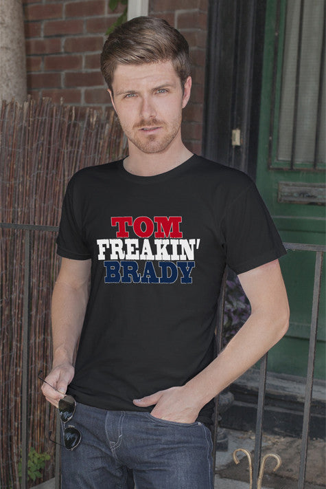 FunkyShirty Tom Freaken' Brady (Men)  Creative Design - FunkyShirty