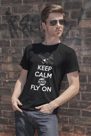 Keep Calm and Fly On (Men)