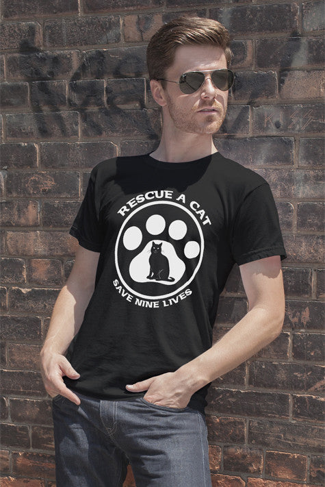 Rescue a Cat save a nine Lives (Men)