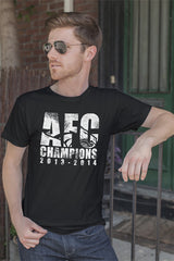 FunkyShirty AFC Champion 2013-2014 (Men)  Creative Design - FunkyShirty