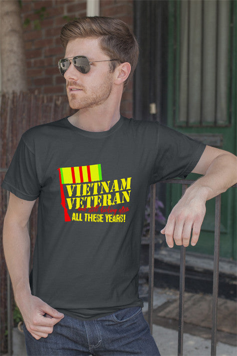 FunkyShirty Vietnam Veteran (Men)  Creative Design - FunkyShirty