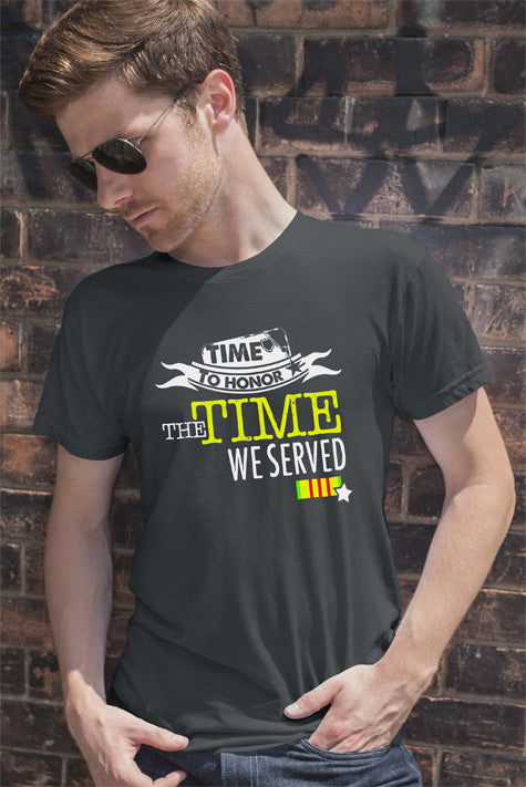 Time to Honor the Time we Served (Men)
