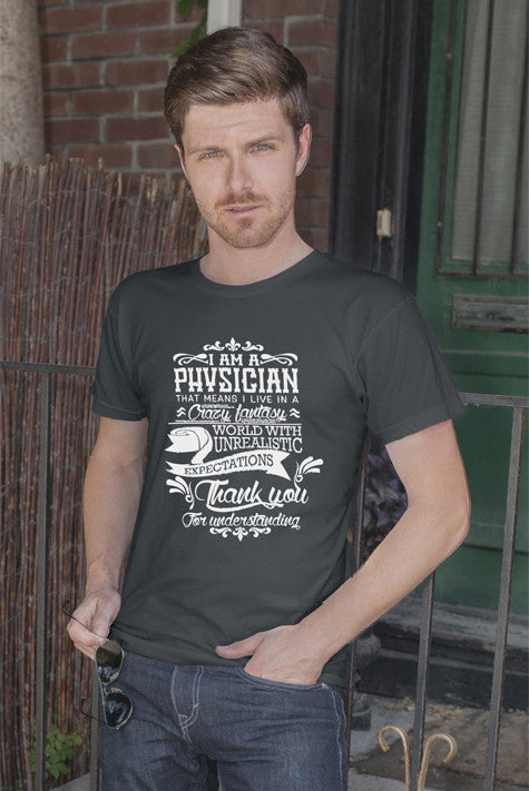 FunkyShirty Physician (Men)  Creative Design - FunkyShirty