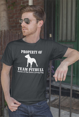 FunkyShirty Property of Team Pitbull (Men)  Creative Design - FunkyShirty