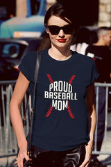 FunkyShirty Proud Baseball Mom 3  Creative Design - FunkyShirty