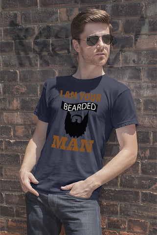 FunkyShirty I Am Your Bearded Man  Creative Design - FunkyShirty