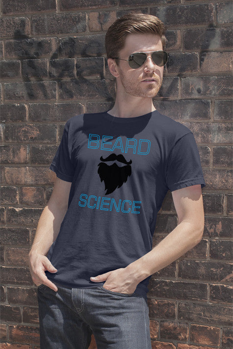 FunkyShirty Beard Science  Creative Design - FunkyShirty
