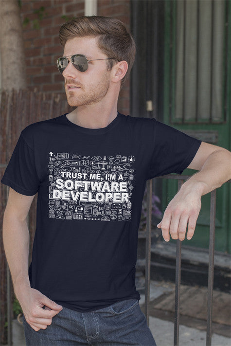 FunkyShirty Trust me Im a Software Developer (MEN)  Creative Design - FunkyShirty