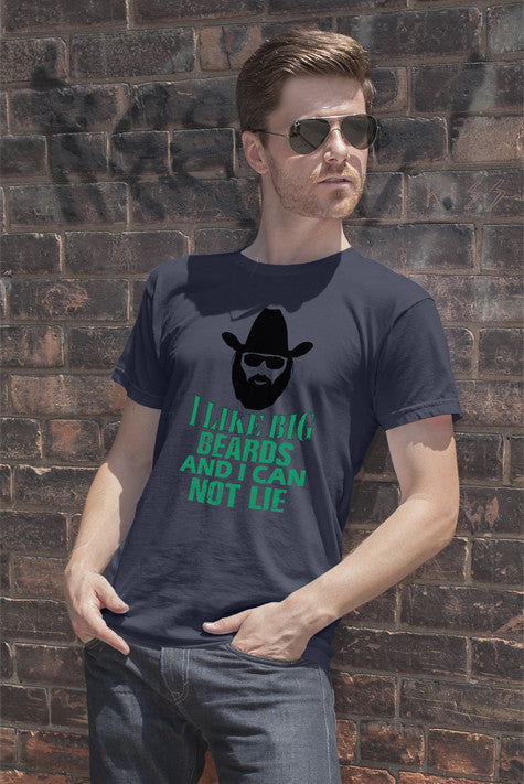 FunkyShirty I LIke Big Beards and i Can not Lie  Creative Design - FunkyShirty