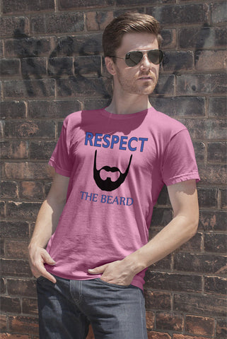 FunkyShirty Respect The Beard  Creative Design - FunkyShirty
