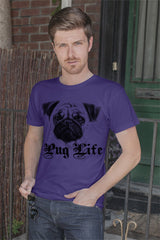 FunkyShirty Pug Life (Men)  Creative Design - FunkyShirty