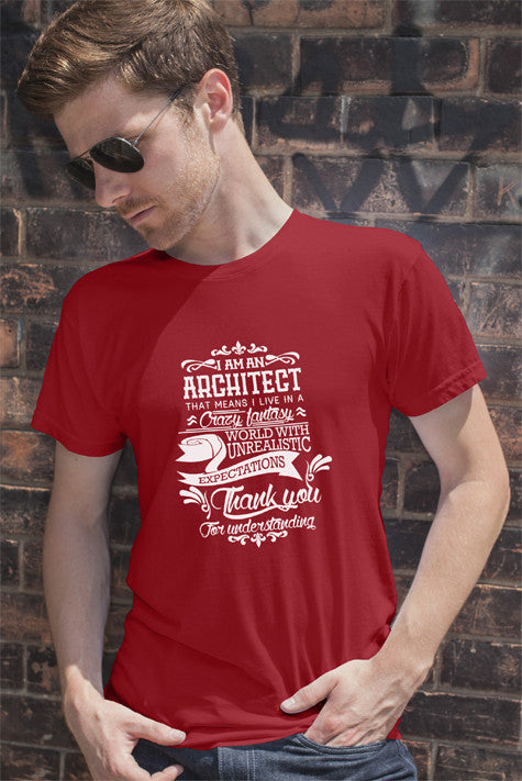 FunkyShirty Architect (Men)  Creative Design - FunkyShirty
