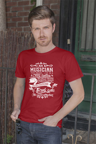 FunkyShirty MUsician (Men)  Creative Design - FunkyShirty