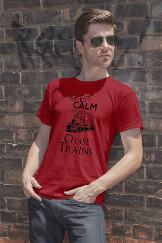 Keep Calm and Chase Trains (Men)