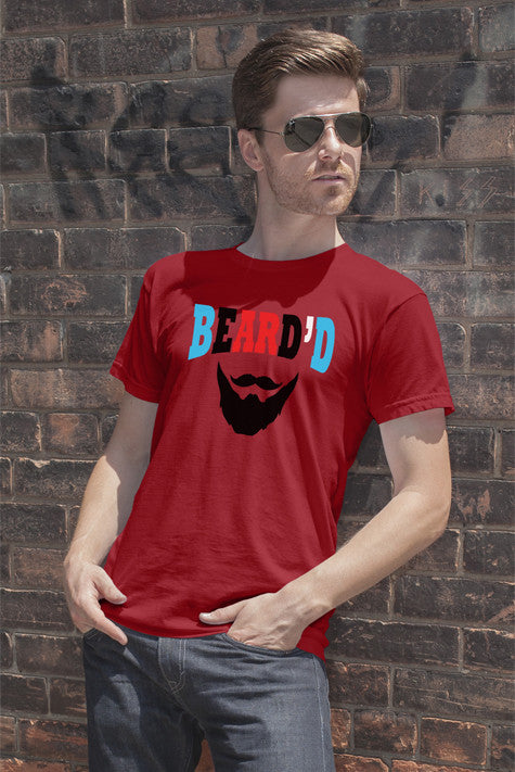 FunkyShirty Bearde'd  Creative Design - FunkyShirty