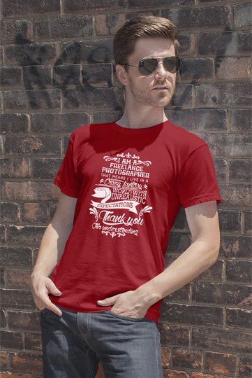 FunkyShirty Freelance Photographer (Men)  Creative Design - FunkyShirty