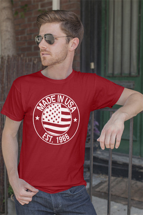 FunkyShirty Made in USA EST.1966 (Men)  Creative Design - FunkyShirty