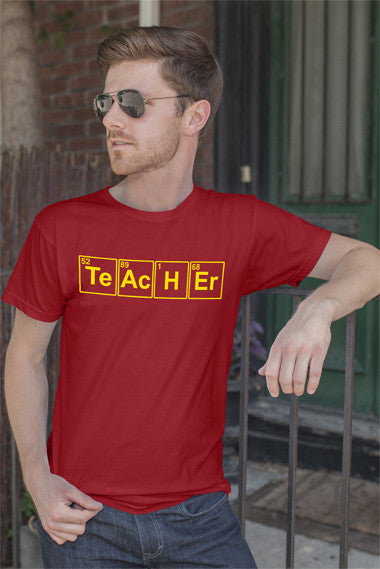 FunkyShirty Teacher (Men)  Creative Design - FunkyShirty
