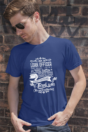 FunkyShirty Loan Officer (Men)  Creative Design - FunkyShirty