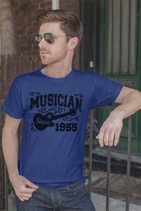 FunkyShirty Musician Since 1955 (MEN)  Creative Design - FunkyShirty