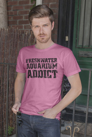 FunkyShirty Aquarium Addict (MEN)  Creative Design - FunkyShirty