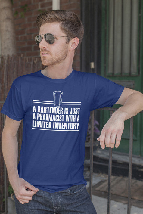 FunkyShirty Bartender (Men)  Creative Design - FunkyShirty