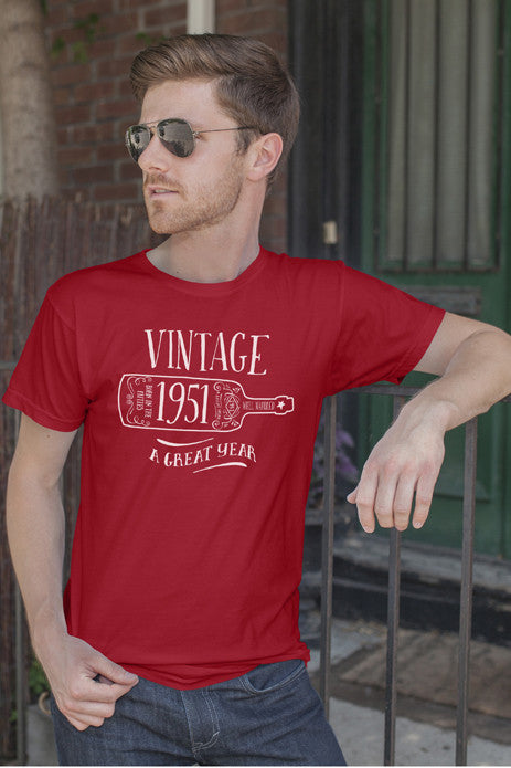 FunkyShirty Vintage 1951 (Men)  Vintage 1950s - FunkyShirty