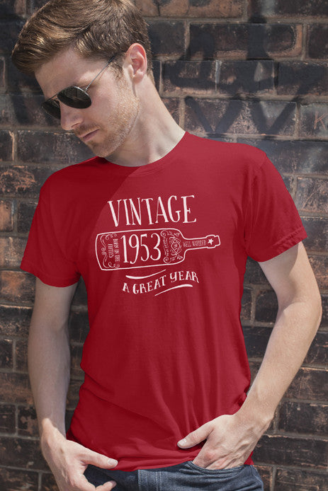FunkyShirty Vintage 1953 (Men)  Vintage 1950s - FunkyShirty