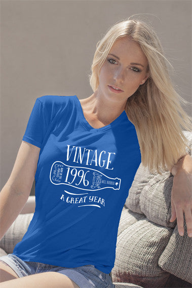 FunkyShirty Vintage 1996 (Womens)  Vintage 1990s - FunkyShirty