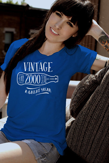 FunkyShirty Vintage 2000 (Womens)  Vintage 1990s - FunkyShirty