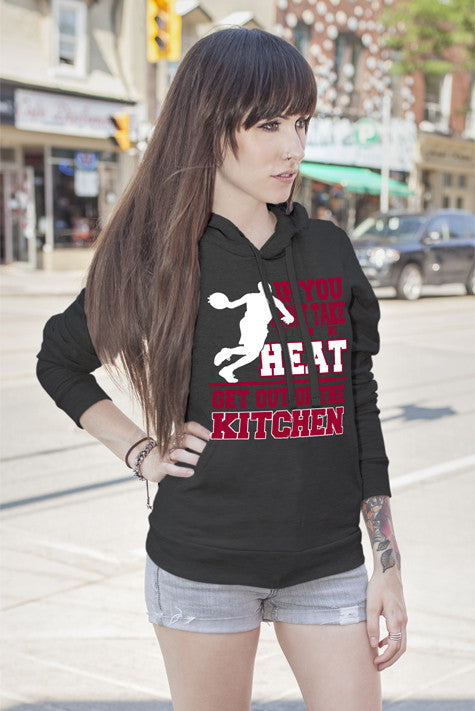 FunkyShirty If You cant take the Heat Get out of the Kitchen (Women)  Creative Design - FunkyShirty