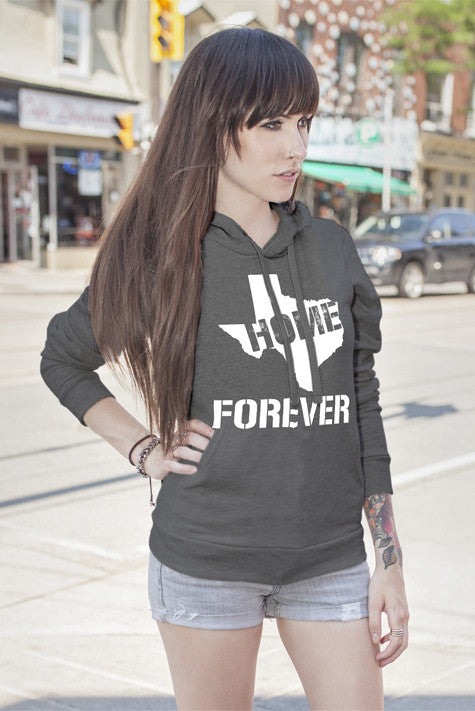 FunkyShirty Home Forever (Women)  Creative Design - FunkyShirty