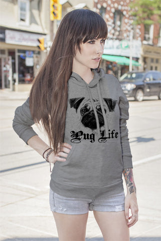 FunkyShirty Pug Life (Women)  Creative Design - FunkyShirty