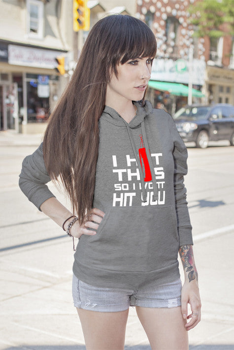 FunkyShirty I HIt This so I Wont Hit You (Women)  Creative Design - FunkyShirty