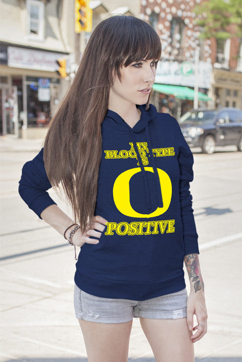 FunkyShirty My Blood Type is O Positive (Women)  Creative Design - FunkyShirty