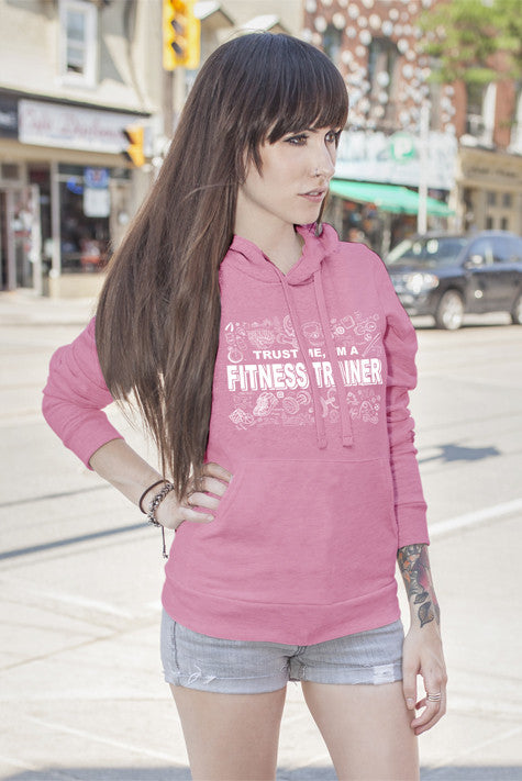 FunkyShirty Trust me Im a Fitness Trainer (WOMAN)  Creative Design - FunkyShirty