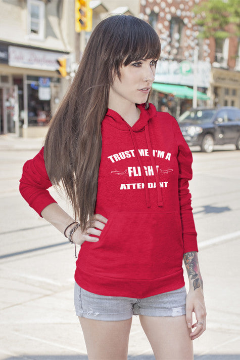 FunkyShirty Trust me Im a Flight Attendant (Women)  Creative Design - FunkyShirty