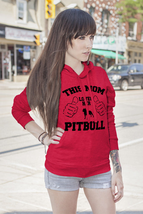 FunkyShirty This mom loves her Pitbull  Creative Design - FunkyShirty