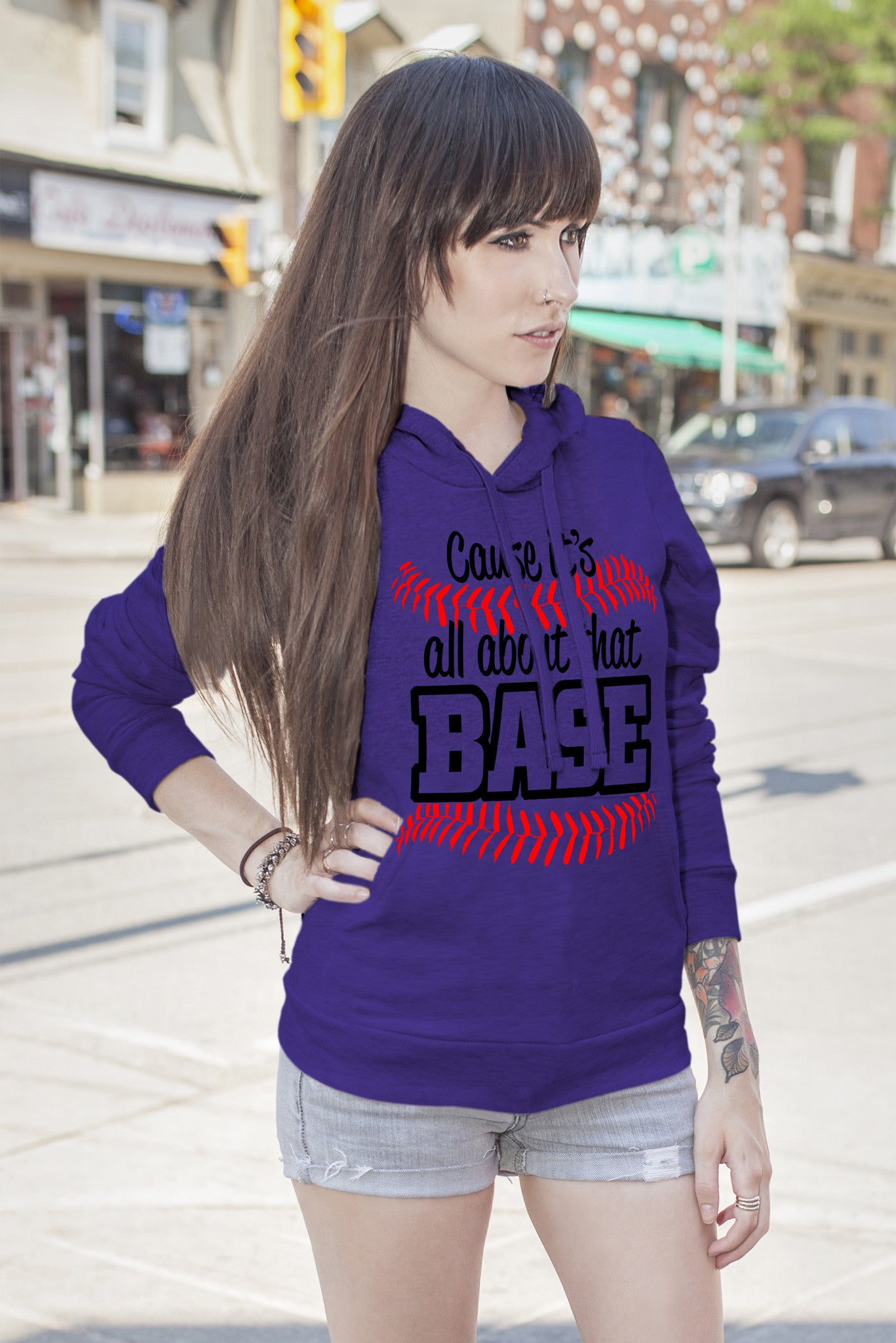 FunkyShirty Cause it's all about that BASE (Women)  Creative Design - FunkyShirty