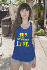 FunkyShirty Friends come and Go but Brothers are for Life (Women)  Creative Design - FunkyShirty