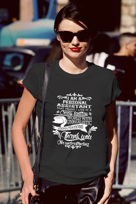 FunkyShirty Personal Assistant (Women)  Creative Design - FunkyShirty