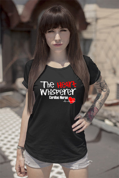 FunkyShirty The Heart Whisperer (Women)  Creative Design - FunkyShirty
