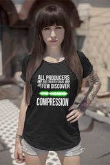 FunkyShirty All Prudocts are created equal and then a few discover Compression (Women)  Creative Design - FunkyShirty