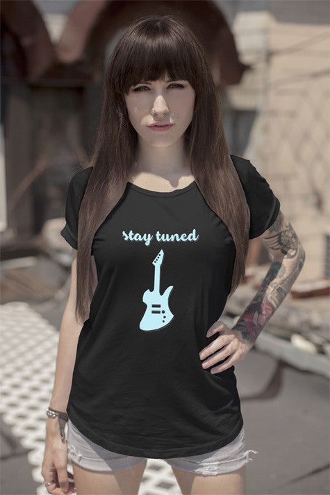 FunkyShirty Stay Tuned (Women)  Creative Design - FunkyShirty