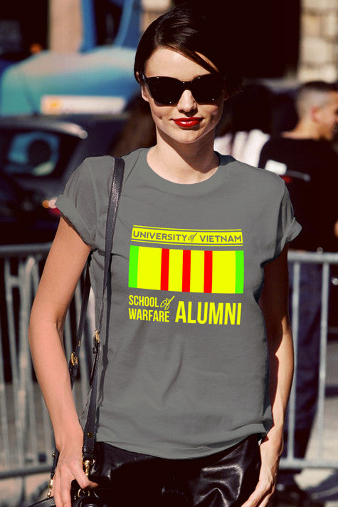 FunkyShirty University of Vietnam School Welfare of Alumni (Women)  Creative Design - FunkyShirty