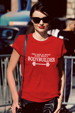 Feel Safe at Night Sleep With a BOdyBuilder (Women)