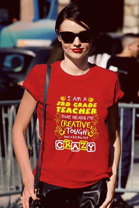 FunkyShirty Grade Teacher (Women)  Creative Design - FunkyShirty