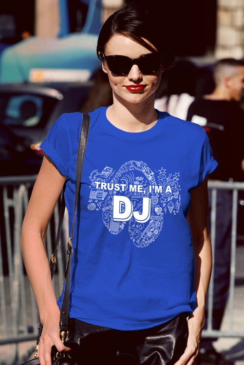 FunkyShirty Trust Me Im a DJ (Women)  Creative Design - FunkyShirty