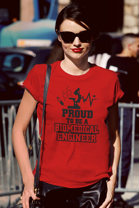 FunkyShirty Proud to be a Biomedical Engineer (Women)  Creative Design - FunkyShirty
